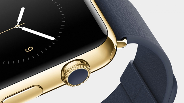 The iWatch... doh! I mean Apple Watch.